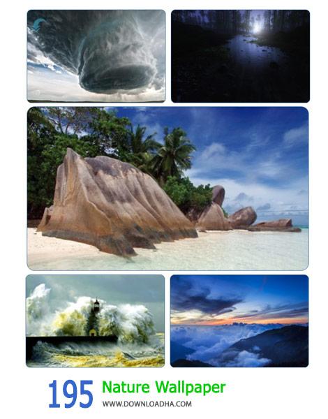 195 Nature Wallpaper Cover%28Downloadha.com%29 دانلود مجموعه 195 والپیپر طبیعت زیبا