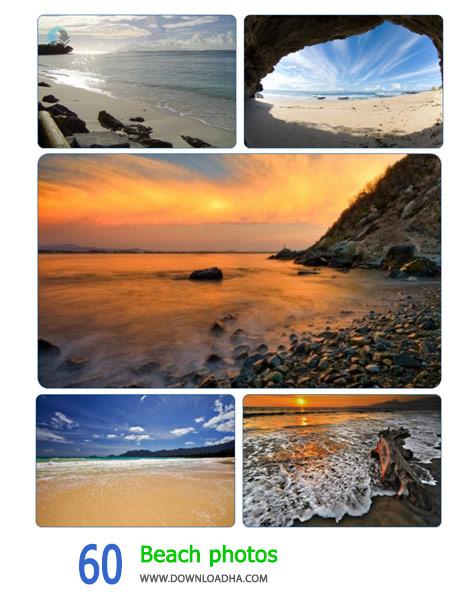 60 Beach photos Cover%28Downloadha.com%29 دانلود مجموعه 60 والپیپر سواحل