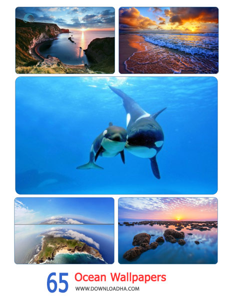 65 Ocean Wallpapers Cover%28Downloadha.com%29 دانلود مجموعه 65 والپیپر اقیانوس