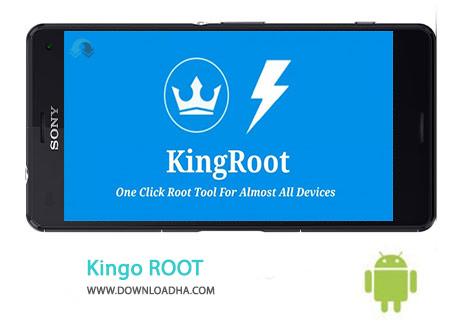 Kingo ROOT Cover%28Downloadha.com%29 دانلود نرم افزار روت قدرتمند Kingo ROOT 3.3   اندروید