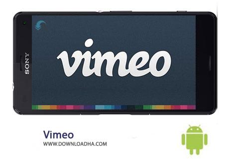 Vimeo Cover%28Downloadha.com%29 دانلود نرم افزار اشتراک گذاری فیلم Vimeo 2.3.2   اندروید