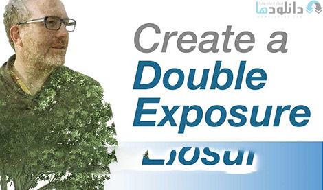Double Exposure Effect Photoshop Cover%28Downloadha.com%29 دانلود فیلم آموزش اثرهای نمایشی در فتوشاپ