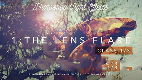 Photoshop Light Effects The Lens Flare Cover%28Downloada.com%29 دانلود فیلم آموزشی افکت های نور در فتوشاپ