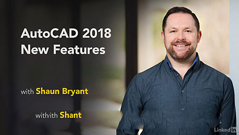 Lynda-AutoCAD-2018-New-Features-Cover
