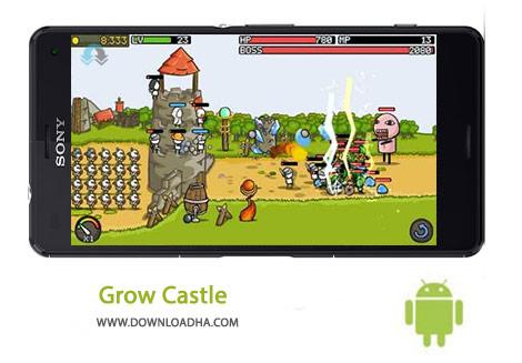 دانلود-بازی-ارکید-Grow-Castle-1-16-0-8211-اندروید