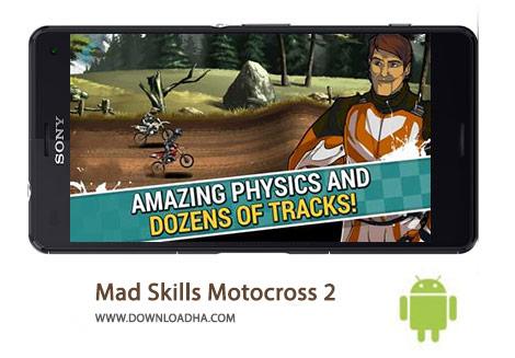 دانلود-بازی-موتورسواری-Mad-Skills-Motocross-2-2-5-8-8211-اندروید