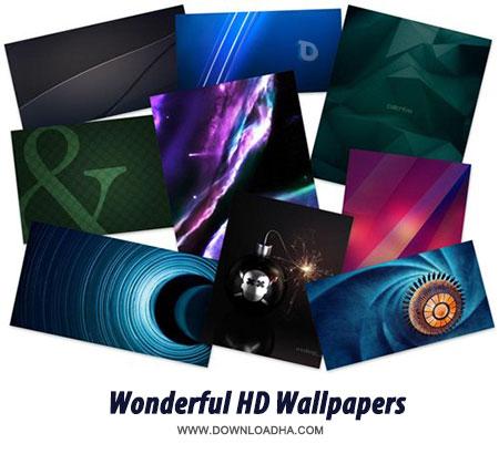 100 Wonderful Abstract HD Wallpapers مجموعه والپیپر های شگفت انگیز HD