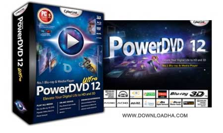 CyberLink PowerDVD Ultra  پخش فیلم DVD با CyberLink PowerDVD Ultra 14.0.3917.58