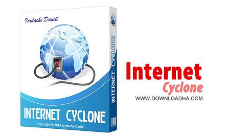Internet Cyclone بهینه سازی و افزایش سرعت اینترنت Internet Cyclone 2.20