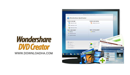 Wondershare DVD Creator 3.0.0.12 ایجاد و ویرایش دی وی دی Wondershare DVD Creator 3.0.0.12