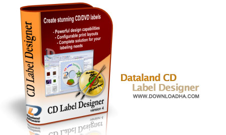 dataland cd label designer ساخت لیبیل برای DVD با Dataland CD Label Designer 5.3.1