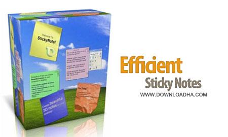 efficient sticky notes 3.70.360 نوشتن یادداشت و برنامه روزانه Efficient Sticky Notes 3.70.360