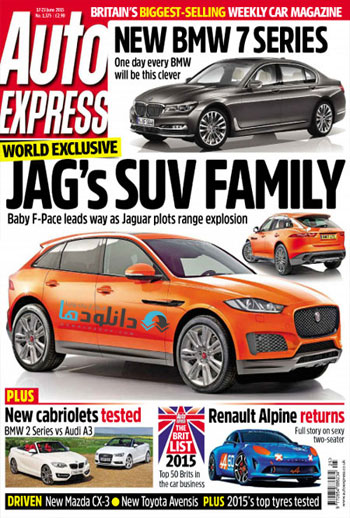 Auto Express June 2015 دانلود مجله اتومبیل   Auto Express June 2015