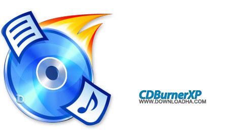 cdburnerxp رایت انواع لوح های فشرده CDBurnerXP 4.5.2.4478