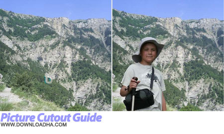 Picture Cutout Guide مونتاژ آسان تصاویر Picture Cutout Guide 2.10.3