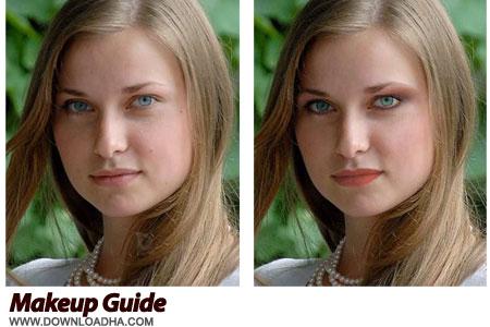Makeup Guide نرم افزار آرایش چهره Makeup Guide 1.4.0