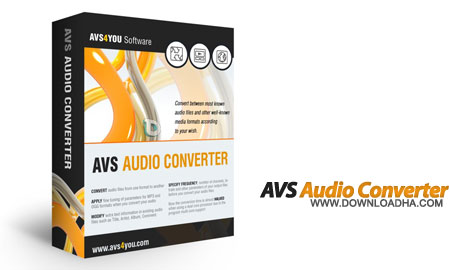 AVS Audio Converter تبدیل فرمت های صوتی AVS Audio Converter 7.2.2.529