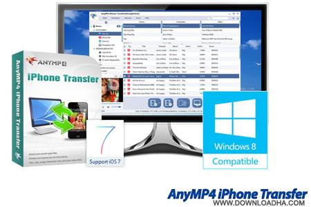 AnyMP4 iPhone Transfer ارتباط بین کامپیوتر و آیفون AnyMP4 iPhone Transfer 7.0.10.19229