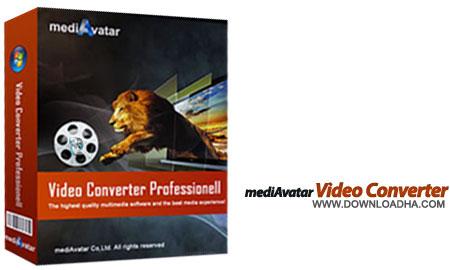 mediAvatar Video Converter تبدیل فرمت قدرتمند مالتی مدیا mediAvatar Video Converter Pro 7.7.3