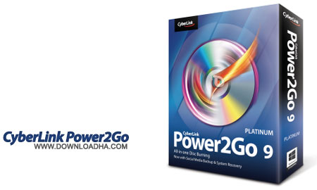 CyberLink Power2Go Platinum نرم افزار قدرتمند رایت CyberLink Power2Go Platinum 9.0.1002