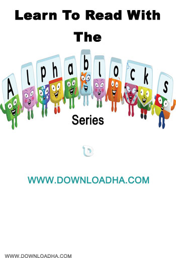 Learn To Read With The Alphablocks Series دانلود مجموعه آموزشی زبان انگلیسی برای کودکان Learn to Read with the Alphablocks Series