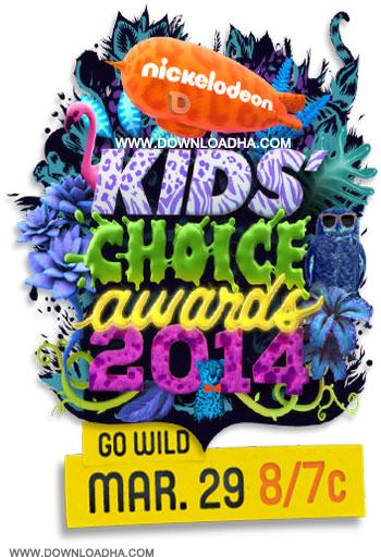 دانلود مراسم جایزه برگزیده کودکان نیکلودین Nickelodeon Kids Choice Awards 2014