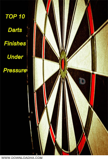 TOP 10 Darts Finishes Under Pressure دانلود کلیپ ورزشی دارت TOP 10 Darts Finishes Under Pressure