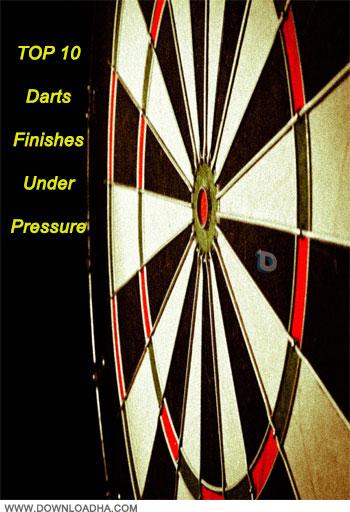 دانلود کلیپ ورزشی دارت TOP 10 Darts Finishes Under Pressure