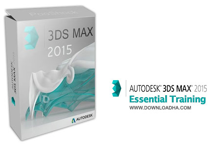 3ds Max 2015 Essential Training آموزش اصول اساسی تری دی مکس 2015   3Ds Max 2015 Essential Training