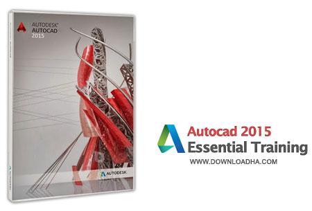 Autocad 2015 Essential Training فیلم آموزش کار با اتوکد 2015   Autocad 2015 Essential Training