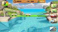 Bridge Constructor S2 s بازی سرگرم کننده و کم حجم ساخت پل Bridge Constructor Playground