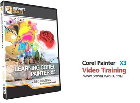 Corel Painter X3 Video Training فیلم آموزش کار با نرم افزار نقاشی کورل Corel Painter X3 Video Training