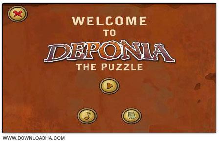 Deponia The Puzzle دانلود بازی کم حجم پازل Deponia: The Puzzle
