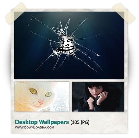 Desktop Wallpapers 10 مجموعه 105 والپیپر زیبا برای دسکتاپ Desktop Wallpapers