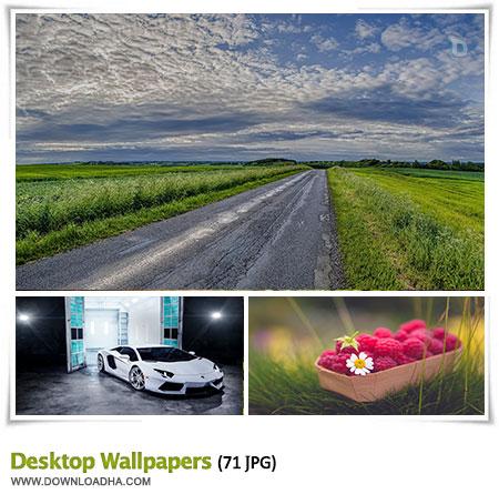 مجموعه ۷۱ والپیپر با کیفیت برای دسکتاپ Desktop Wallpapers