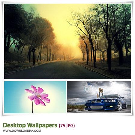 Desktop Wallpapers S7 مجموعه 75 والپیپر زیبا برای دسکتاپ Desktop Wallpapers
