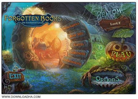 Forgotten Books دانلود بازی فکری کتاب های فراموش شده Forgotten Books: The Enchanted Crown