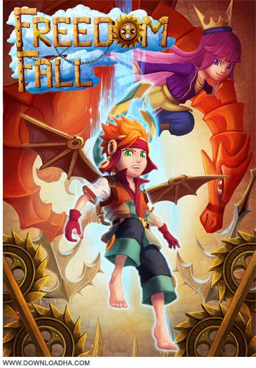Freedom Fall Cover دانلود بازی کم حجم و سرگرم کننده Freedom Fall v2.0
