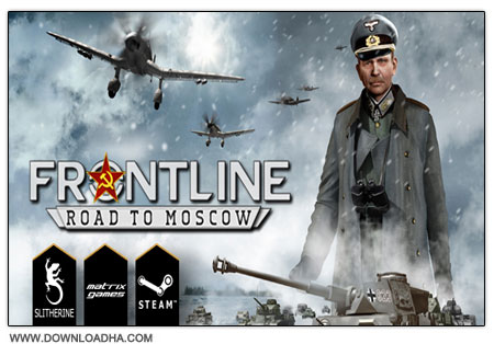 Frontline Road to Moscow دانلود بازی استراتژیکی Frontline: Road To Moscow برای PC