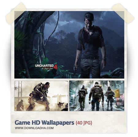 مجموعه ۴۰ والپیپر با کیفیت از بازی های جدید Game Wallpapers 2014