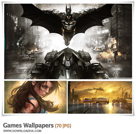 Games HD Wallpapers مجموعه 70 والپیپر با موضوع بازی های کامپیوتری Games Wallpapers