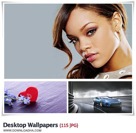 HD Wallpapers مجموعه 115 والپیپر زیبا برای دسکتاپ Desktop Wallpapers
