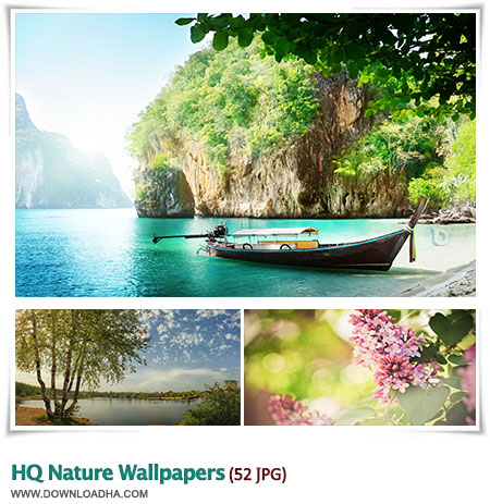 مجموعه ۵۲ والپیپر با کیفیت از طبیعت HQ Nature Wallpapers