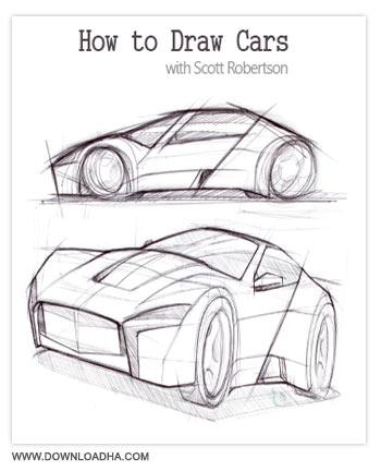 How to Draw Cars آموزش طراحی ماشین با مداد How to Draw Cars