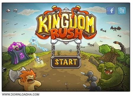 Kingdom Rush بازی استراتژیکی هجوم به قلمرو پادشاهی Kingdom Rush v2.1