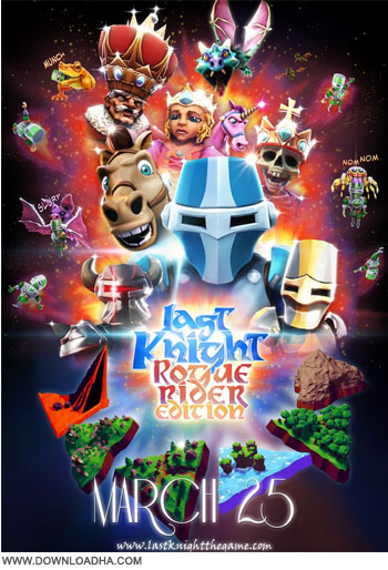 Last Knight Rogue دانلود بازی کم حجم Last Knight: Rogue Rider Edition v1.351