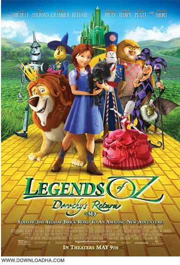 Legends of Oz Dorothys Return 2014 دانلود انیمیشن Legends of Oz: Dorothys Return 2014