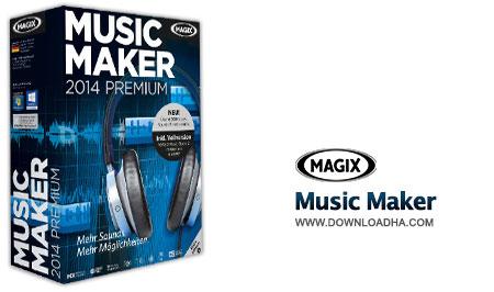 Music Maker ساخت حرفه ای آهنگ با MAGIX Music Maker 2014 20.0.5.56