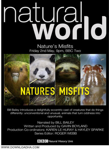 Natures Misfits مستند حیوانات غیرطبیعی Natural World: Natures Misfits 2014