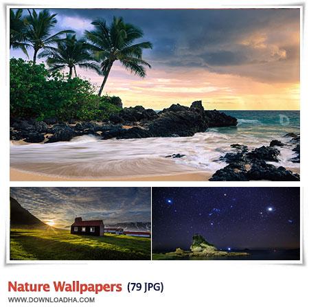 مجموعه ۷۹ والپیپر با کیفیت از طبیعت Nature Wallpapers